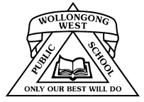 Wollongong West Public School logo